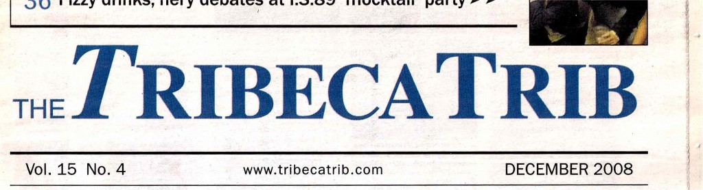 TRIBECA NATIVE, TriBeCa Trib Header